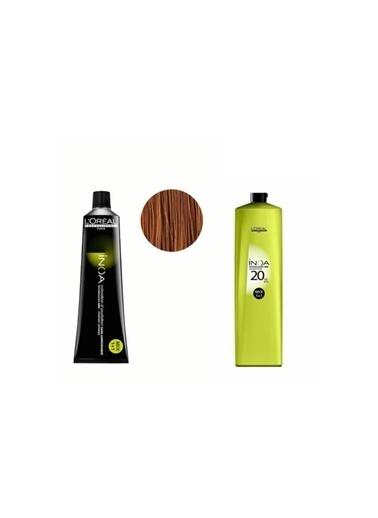 L'oreal Professionnel Loreal Inoa No:8 Saç Boyası 60 Gr+Oksidan 20 Vol. %6 1000 Ml Renksiz